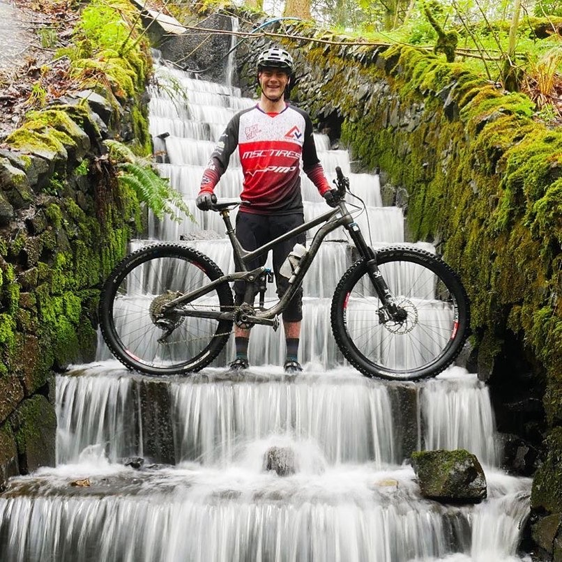 Outfit mountainbiker.